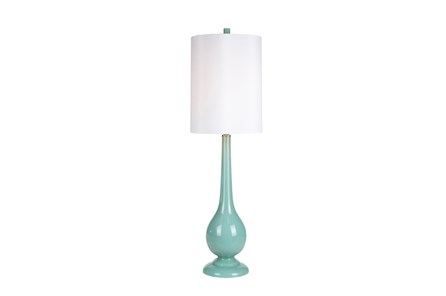 Table Lamp-Retro Aqua