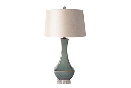 Table Lamp-Slate Drip