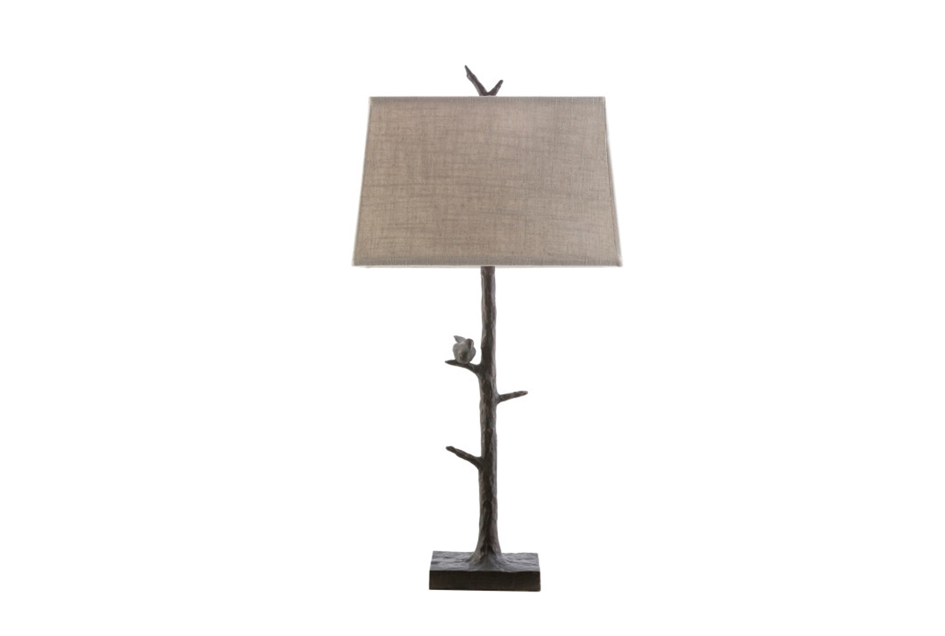 Table Lamp Bird On Branch Living Spaces