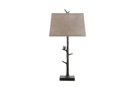 Table Lamp-Bird On Branch