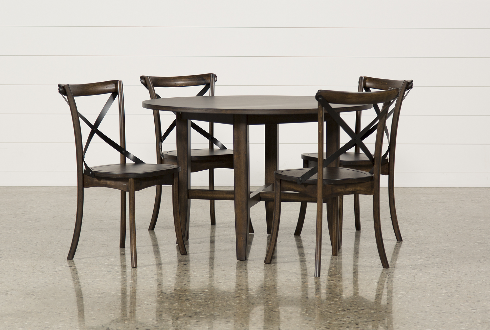 Ordinaire Grady 5 Piece Round Dining Set