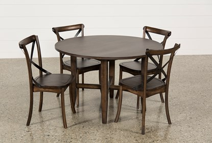 Outstanding Grady 5 Piece Round Dining Set Ocoug Best Dining Table And Chair Ideas Images Ocougorg