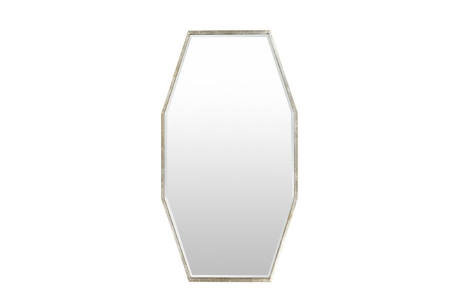 Mirror-Long Octagon Silver 30X55 - 360