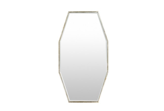 Mirror-Long Octagon Silver 30X55 - 360