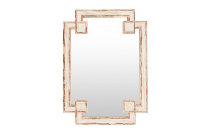Mirror-Mother Of Pearl 28X38 - 360