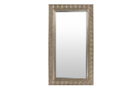Mirror-Antique Detail Silver 51X29