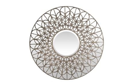 Mirror-Bastille Silver 39X39