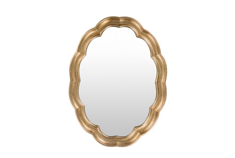 Mirror-Scallop Gold 40X30