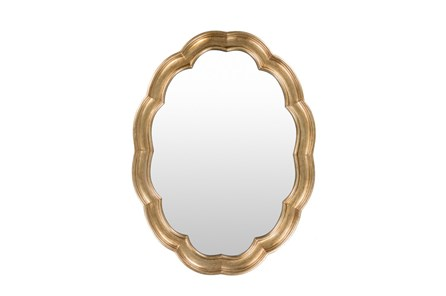 Mirror-Scallop Gold 40X30 - Main
