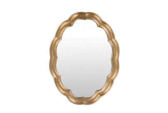Mirror-Scallop Gold 40X30 - 360