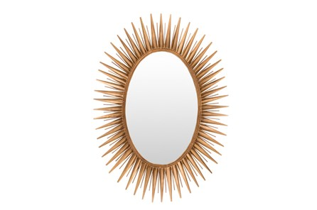 Mirror-Antiqued Goldtone 30X42 - Main