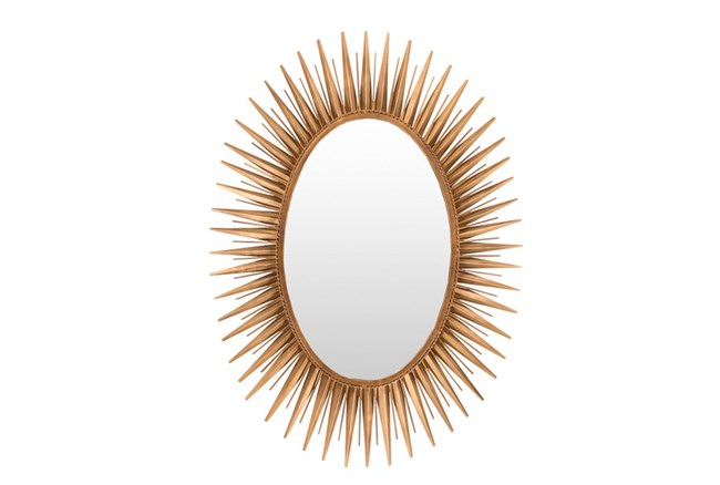 Mirror-Antiqued Goldtone 30X42 - 360