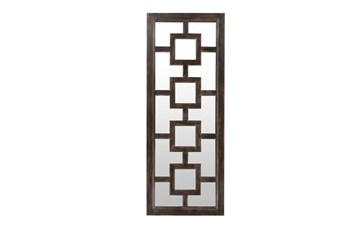 Mirror-Weathered Wood 27X70