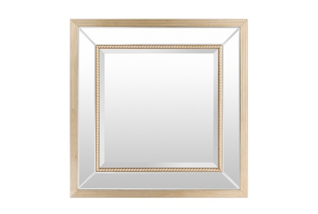 Mirror-Livingston Gold 35X35 - 360