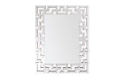 Mirror-Christoph Silver 45X36
