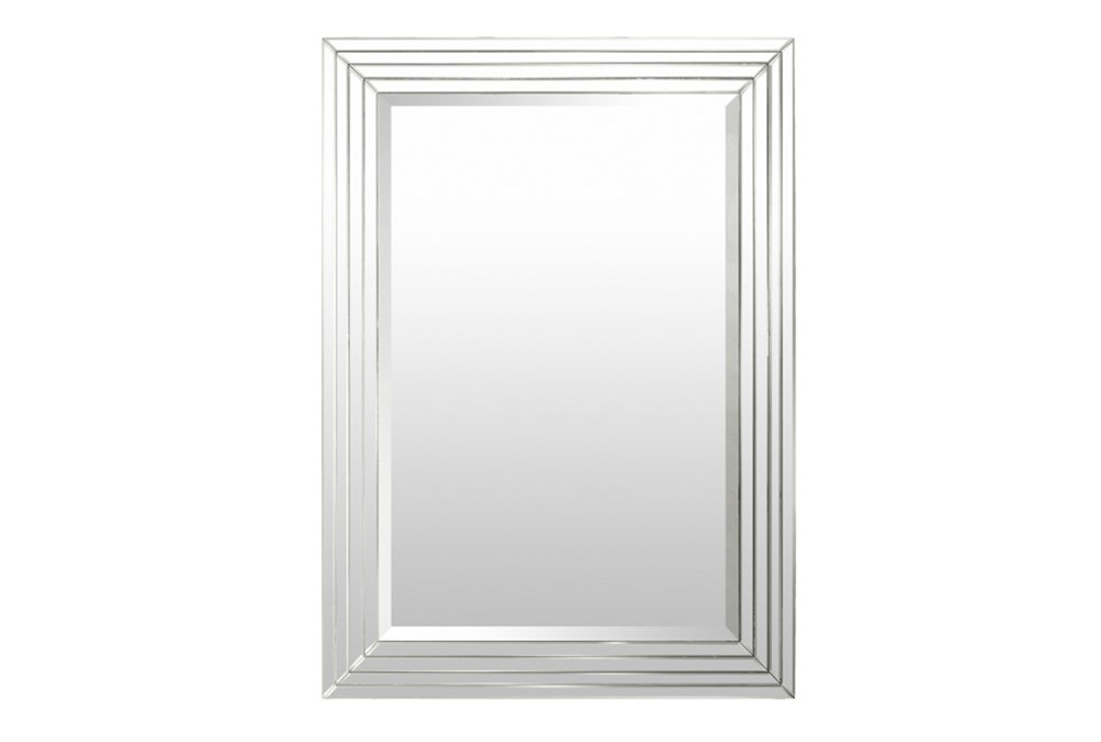 Mirror-Silver Layers 39X31