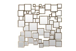 Mirror-Kirkland Silver 39X39
