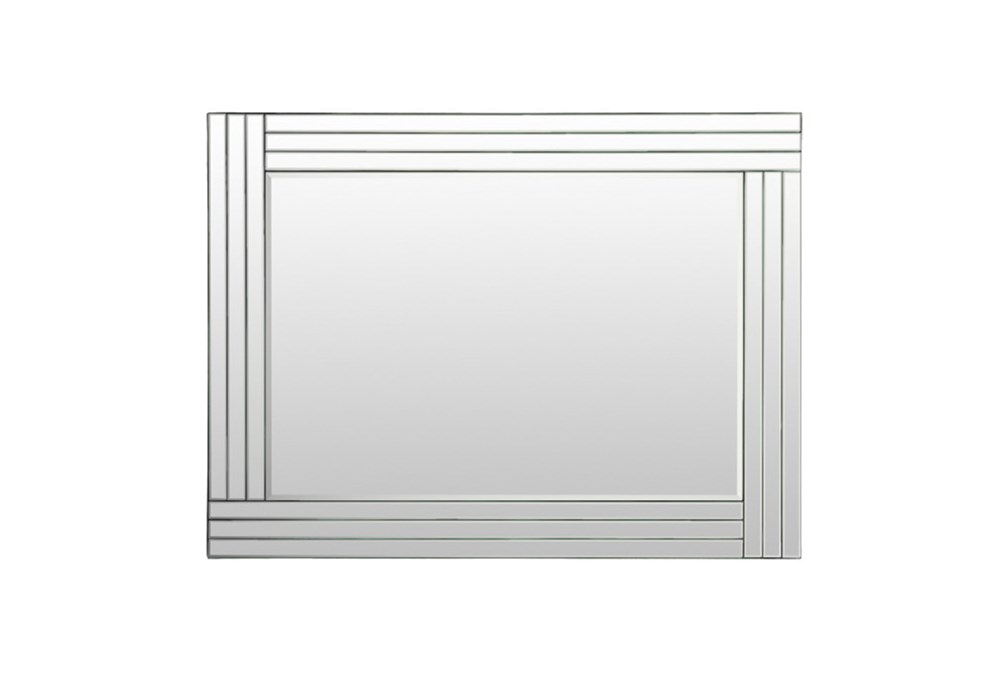 Mirror-Silver Layers 30X40