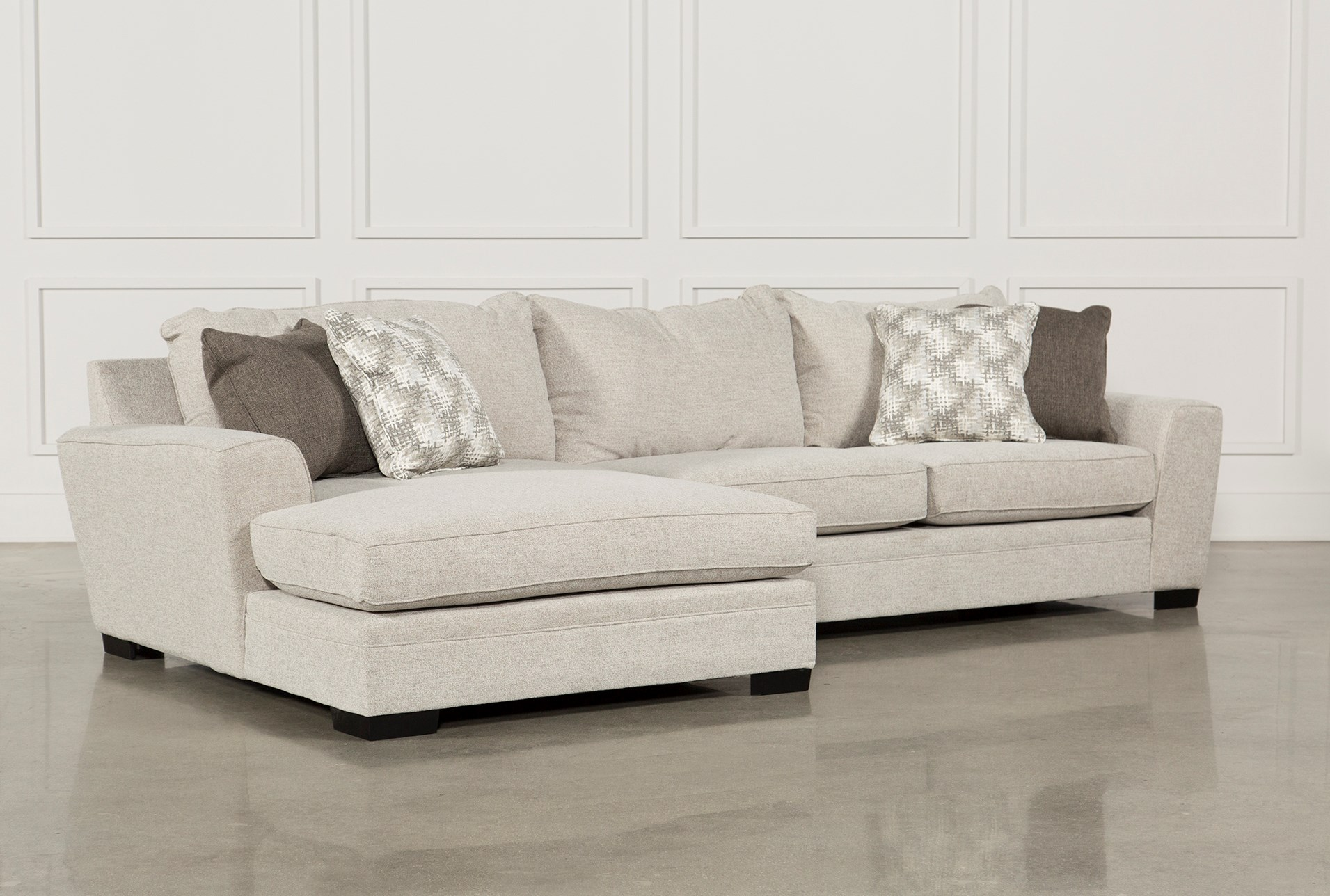 Large Sectional Couch With Delano Piece Sectional Wlaf Oversized Chaise Sectionals Sofas Living Spaces