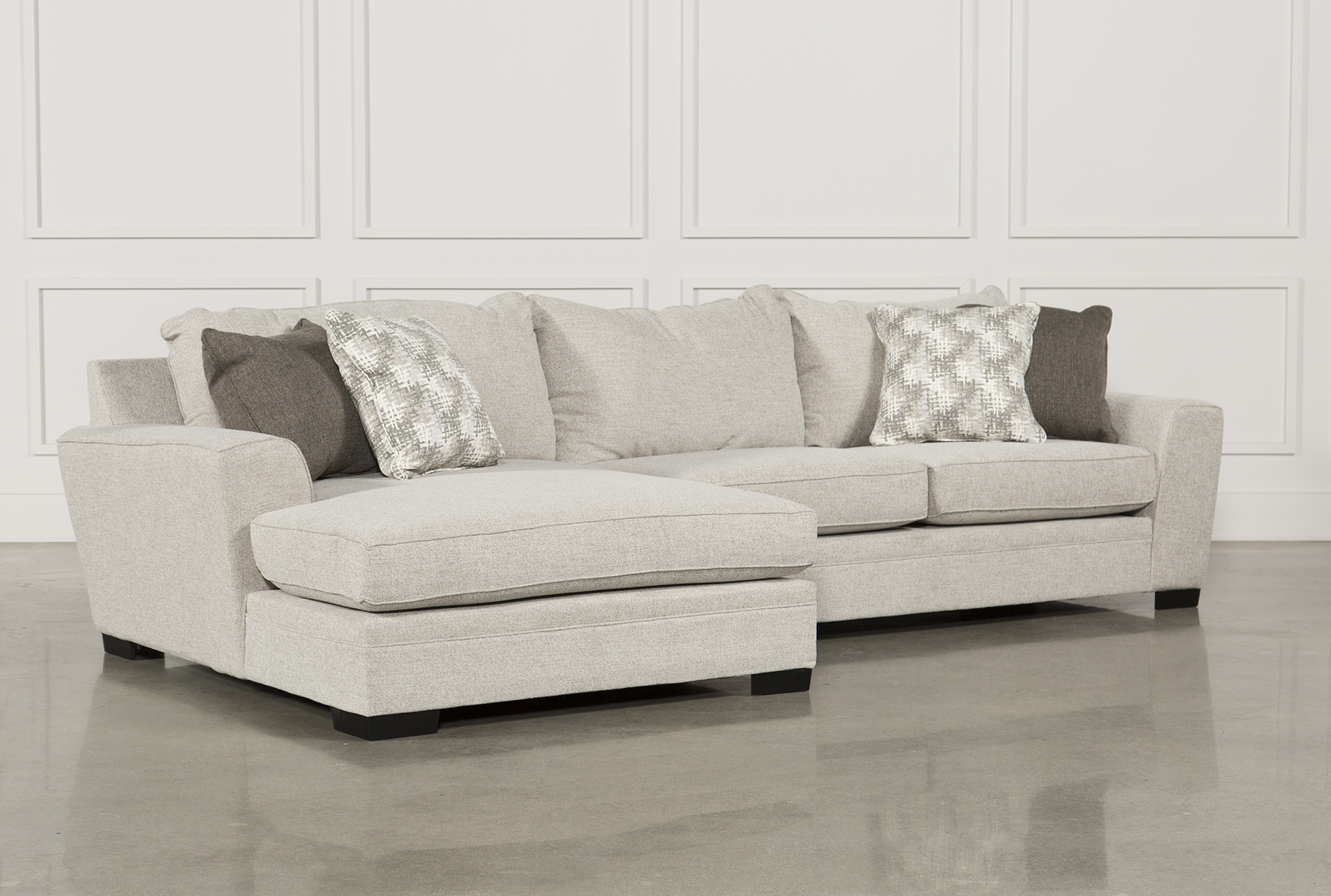 Delano 2 Piece Sectional W/Laf Oversized Chaise   360