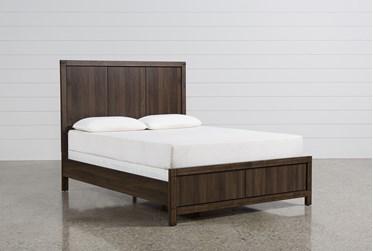 Willow Creek California King Panel Bed