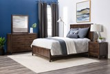Willow Creek California King Panel Bed - Room