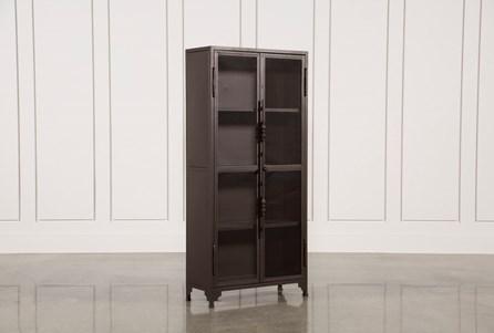 Cobre Iron 72 Inch Tall Bookcase
