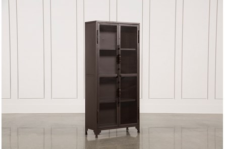Cobre Iron 72 Inch Tall Bookcase - Main