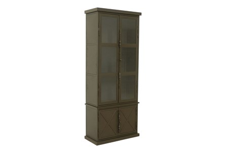 Cobre Iron & Glass 88 Inch Tall Armoire