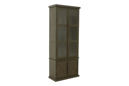 Cobre Iron & Glass 88 Inch Tall Armoire - Main