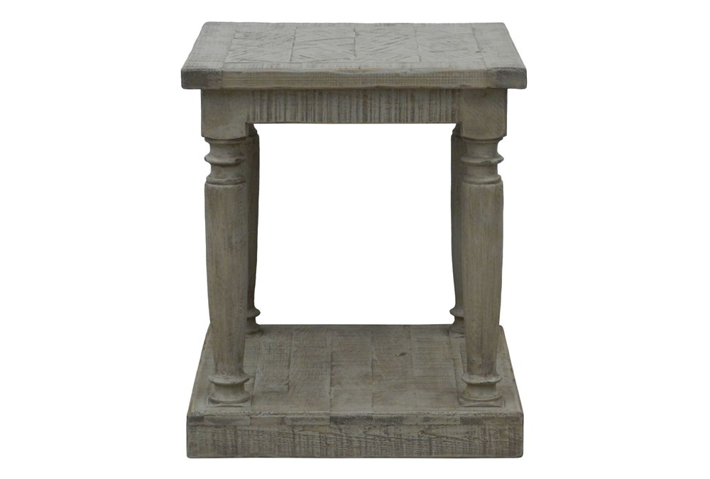Natural Grey Side Table