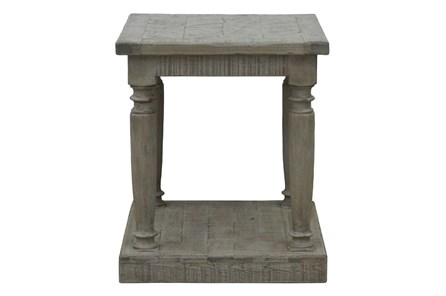 Natural Grey Side Table - Main