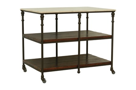 Cobre/Chestnut/Iron Kitchen Island - Main