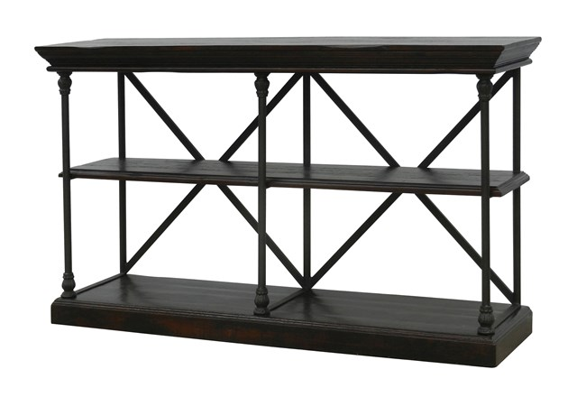 Chestnut & Cobre 65 Inch Media Console - 360