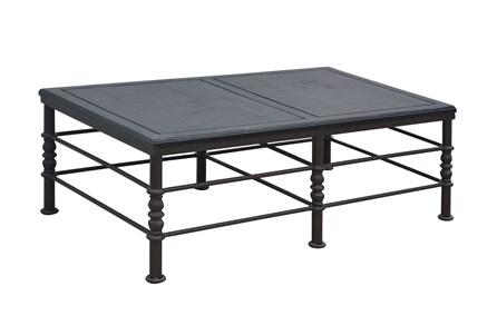 Flat Black & Cobre Coffee Table