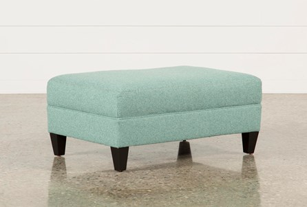 Adler Fabric Small Rectangle Ottoman