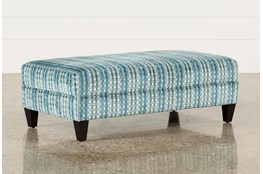 Adler Fabric Medium Rectangle Ottoman