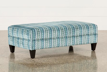 Adler Fabric Medium Rectangle Ottoman
