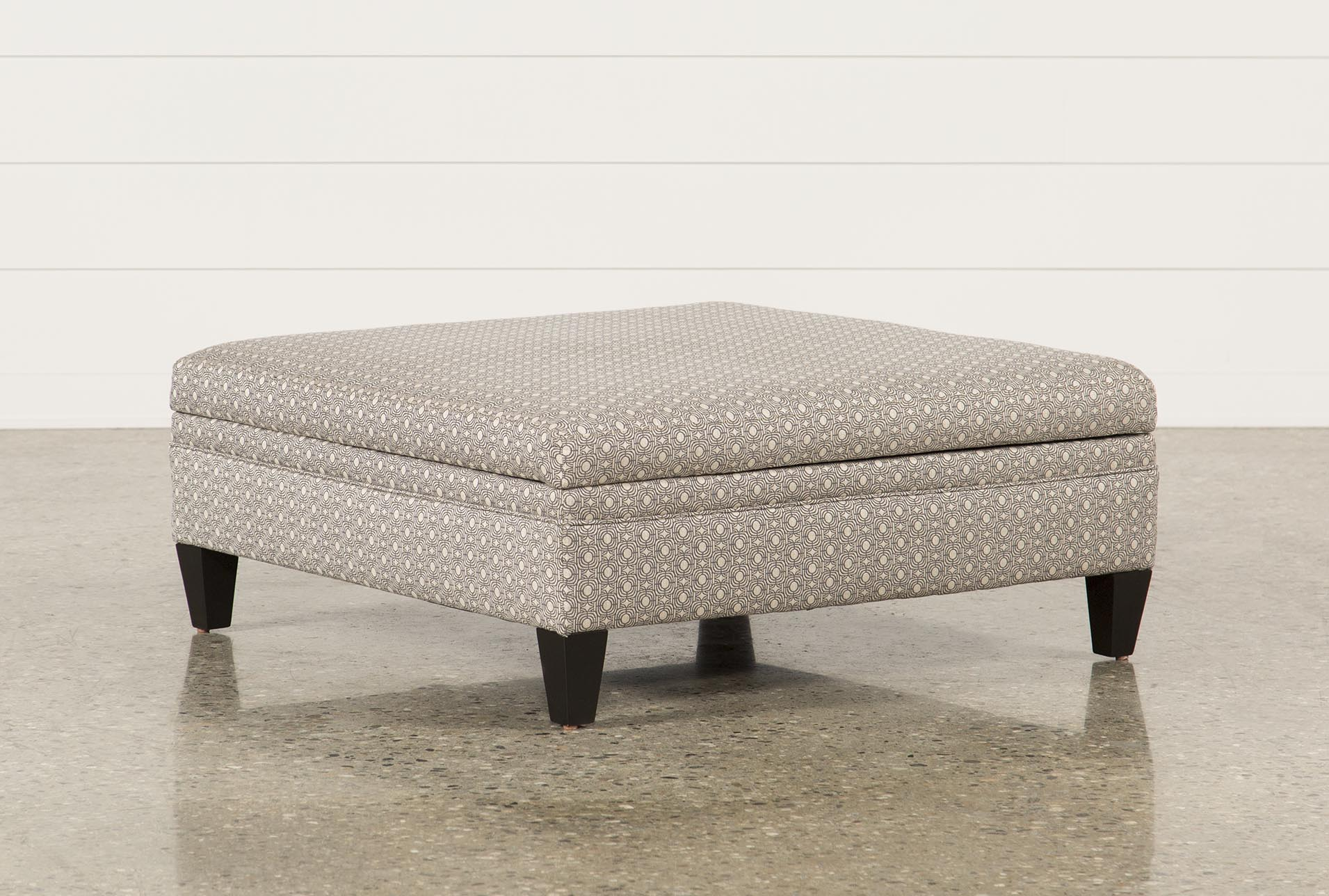 Adler Fabric Large Square Storage Ottoman (Qty: 1) Has Been Successfully  Added To Your Cart.