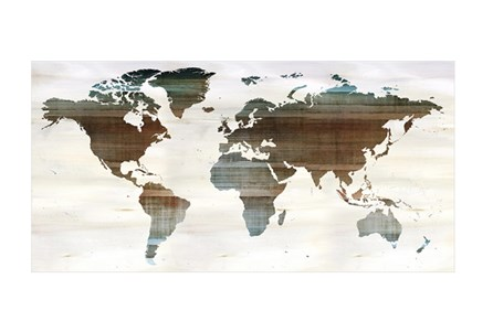 Picture-Ombre World Map