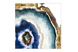 Picture-Shades Of Blue Agate - Signature