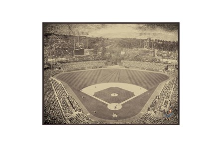 Picture-Vintage Dodgers Stadium - Main