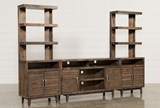 Thorndale 3 Piece Entertainment Center W/62 Inch Console - Signature