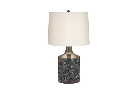 Table Lamp-Starburst Grey