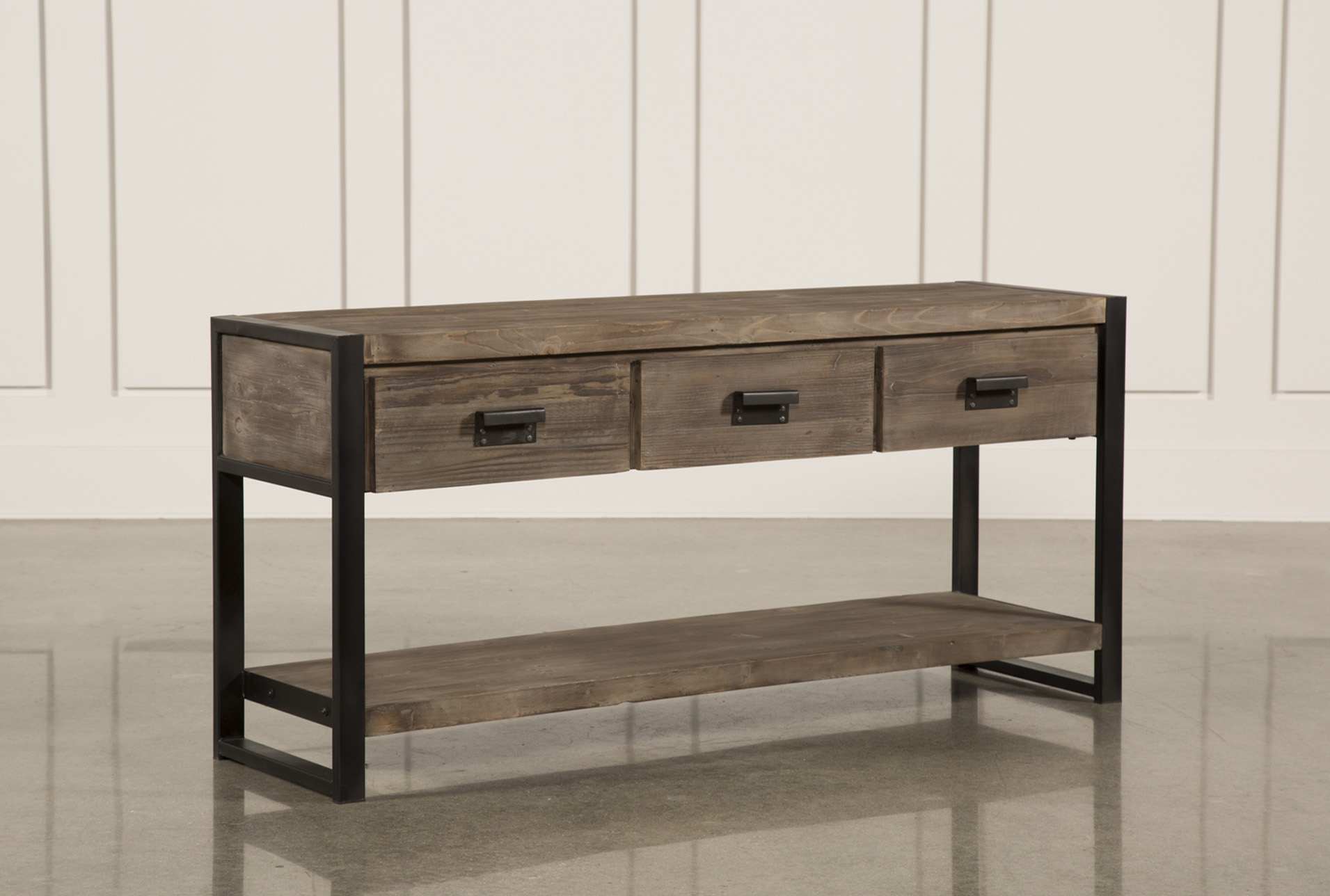 Prescott Sofa Table Living Spaces