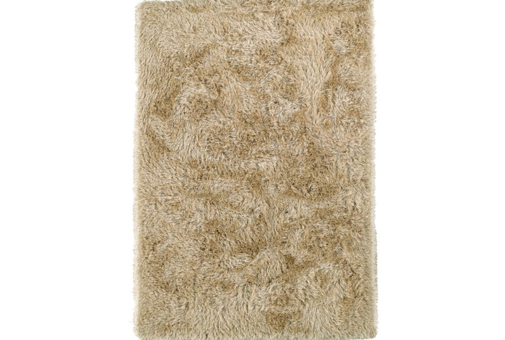 96X120 Rug-Lustre Shag Sand