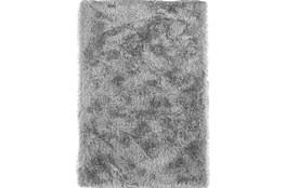 108X156 Rug-Lustre Shag Silver