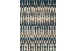 39X61 Rug-Tribal Teal