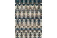 63X91 Rug-Tribal Teal