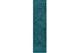 22X90 Rug-Kateri Turquoise